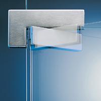 colocacion de herraje de bisagra hidraulica puerta de cristal